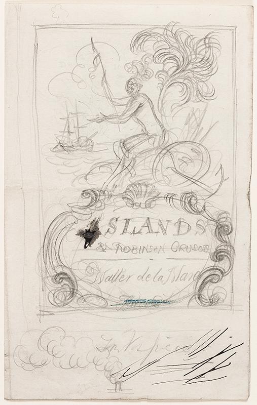 WHISTLER Rex (1905-1944) - 'Desert Islands & Robinson Crusoe' (Not W&F).