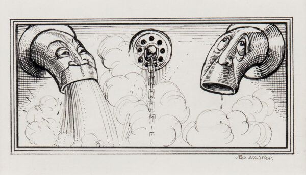 WHISTLER Rex (1905-1944) - 'Ann's Bath'.
