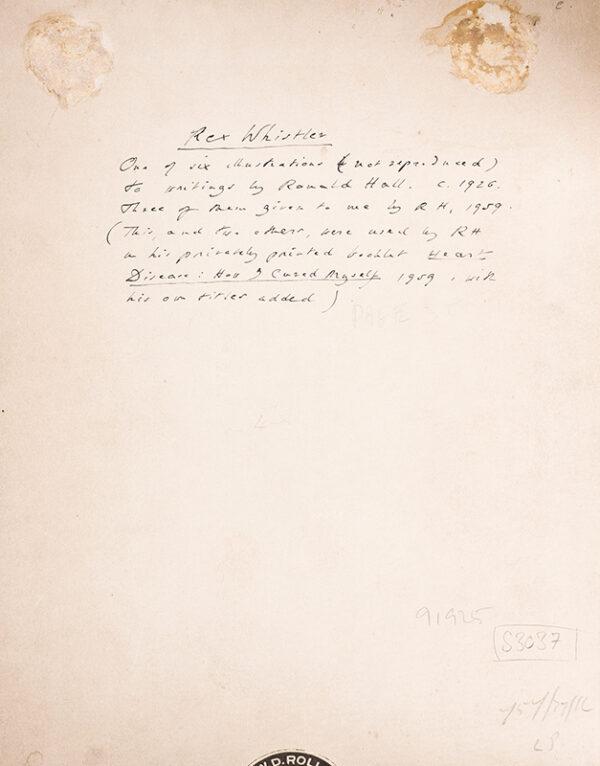 WHISTLER Rex (1905-1944) - 'A Man of Destiny' (W&F.
