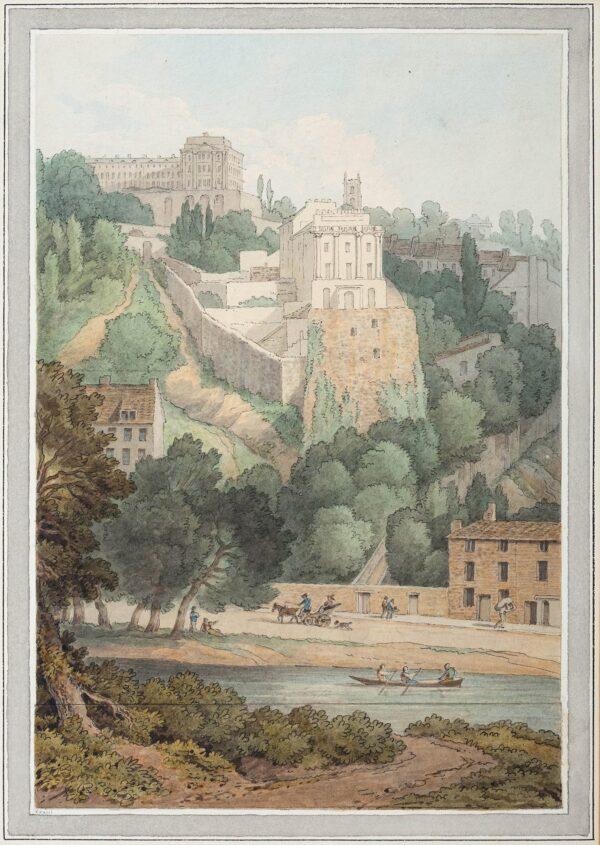 ABBOTT John White (1763-1851) - Bristol; 'Clifton, Gloucestershire'.