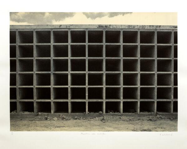WHITEREAD Rachel C.B.E. (b.1963) - 'Mausoleum under construction'.