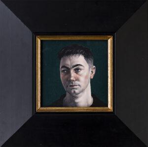 WILCOX Graeme (b.c.1970) - 'Head Study 3'.