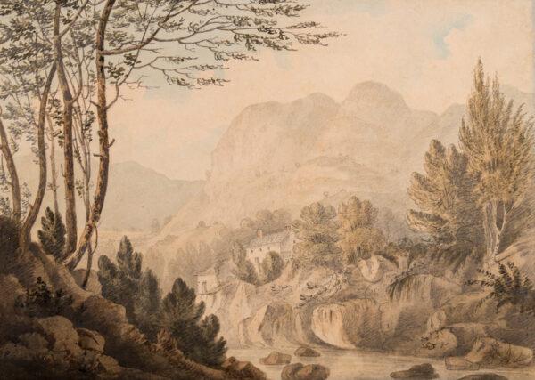 WILKINSON Rev. Joseph (1764-1831) - Langdale Pikes.