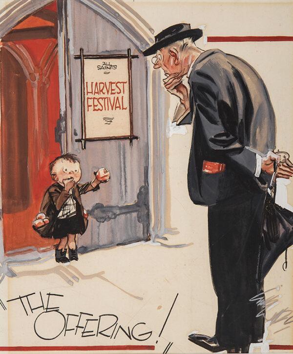 WILKINSON Gilbert (1891-c.1948) - 'The Offering'.