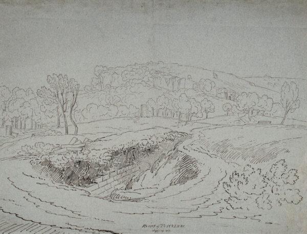 WILLIAMS Hugh William 'Grecian' (1773-1829) - 'Ruins of Tusculum'.