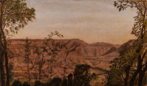 WILLIAMS Miss (fl.1890s) - 'From our Verandah, Hillwood, Panchgani'.