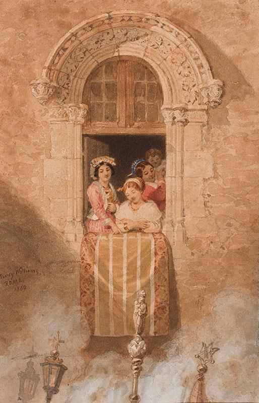 WILLIAMS Penry (1802-1885) - 'Roma'.