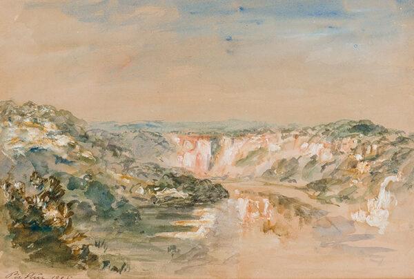 WILSON STEER Philip O.M. N.E.A.C. (1860-1942) - Monmouthshire.