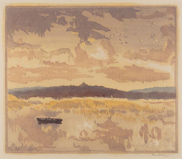 WILSON Muriel (fl.1930s) - 'Rye'.