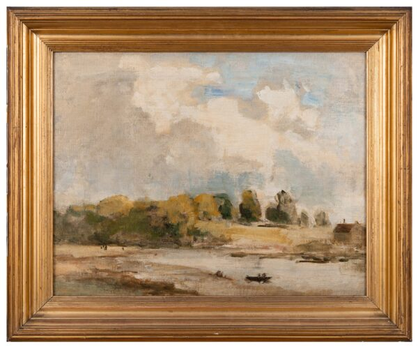 WILSON STEER Philip O.M. N.E.A.C. (1860-1942) - 'Low Tide, Shirehampton'.