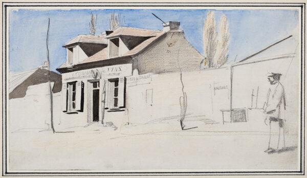 WIRGMAN Charles (1832-1891) - 'Commerce de Vins', Paris.