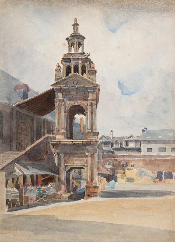 WOLEDGE Frederick William (fl.1830-1895) - Rouen: 'La Tour'.