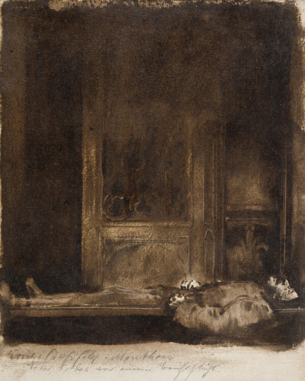 WOLFSFELD Erich (1884-1956) - The Last Rites.