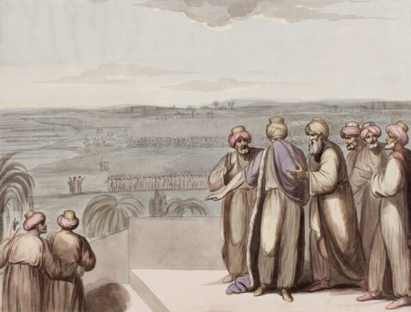 WOODFORDE Samuel R.A. (1763-1817) - Turkey.