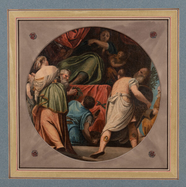 WOODFORDE Samuel R.A. (1763-1817) - Ceiling roundel.