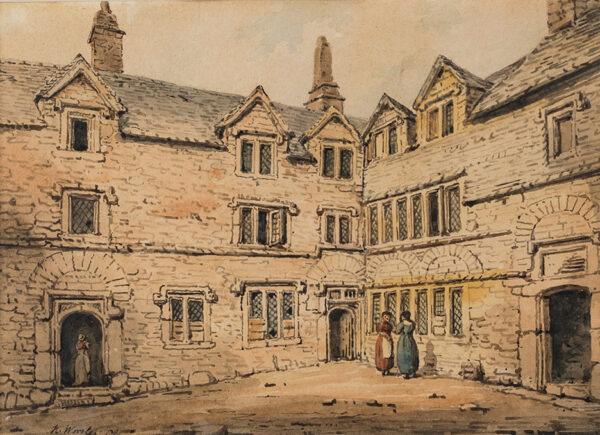 WORSLEY Henry Francis (d.1876) - Palace Court, Plymouth.