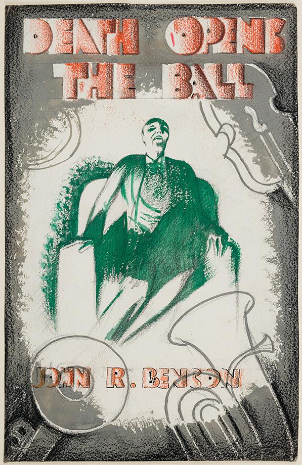 WRAGG Arthur (1903-1976) - 'Death Opens The Ball / John R Benson'.