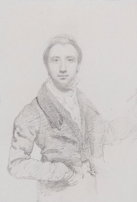 WYATT Henry (1794-1840) - Self-portrait at 25.