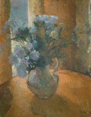 YEOMAN Martin (b.1953) - Chrysanthemums.