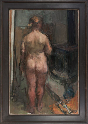 YEOMAN Martin (b.1953) - Nude and Studio Stove.