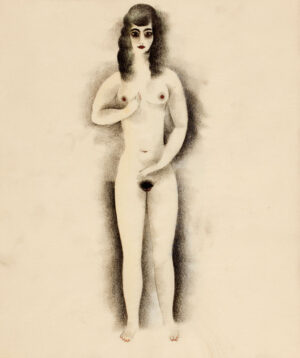 ZIEGLER Richard (1891-1992) - Nude.