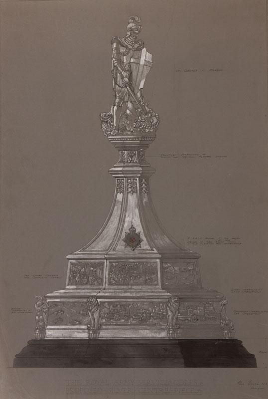 JONES A. Edward Ltd (Founded 1902) - Twelve silver trophy designs by the Birmingham firm.