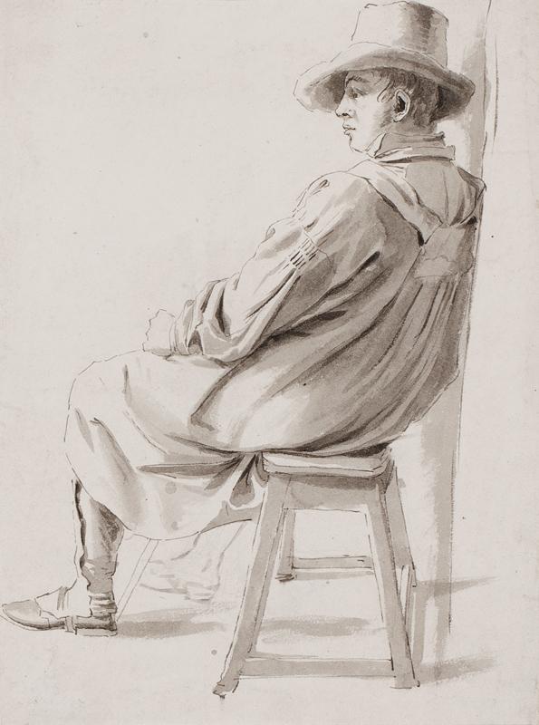 ABBOTT John White (1763-1851) - The farmer.