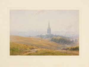 ACKERMANN Arthur Gerald R.I. (1876-1960) - 'Norwich from the Heath'.