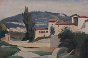 ALDRIDGE John R.A. (1905-1983) - 'Fiesole.