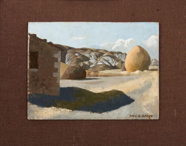 ALDRIDGE John R.A. (1905-1983) - 'Tuscany'.