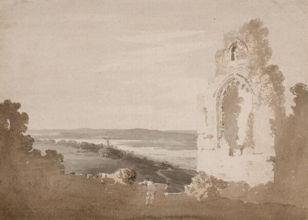 ALEXANDER William (1767-1816) - 'View of Runcorn taken from Hatton Castle'.