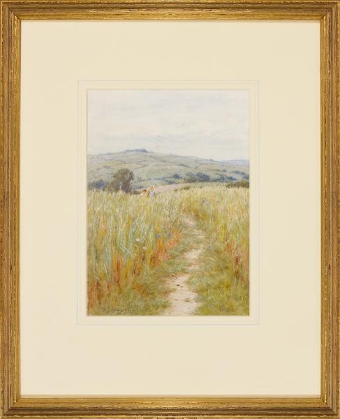 ALLINGHAM Helen R.W.S. (1848-1926) - Wiltshire.