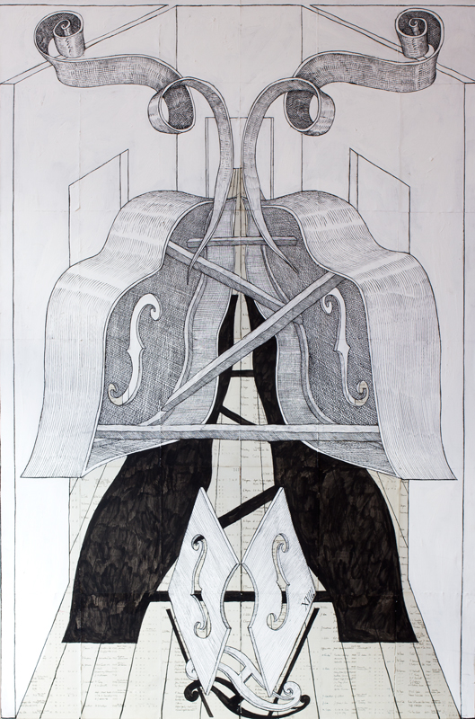 ALLINGTON Edward (b.1951) - 'Incomplete Instrument IV'.