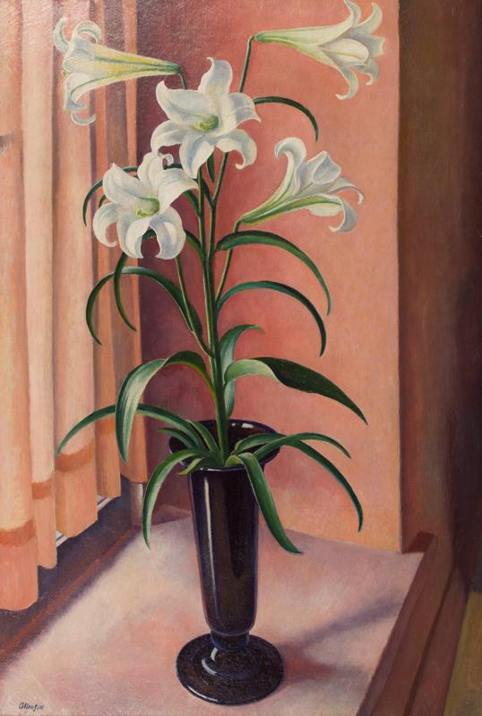 ALLINSON Adrian R.O.I. L.G. (1890-1959) - The Lily.