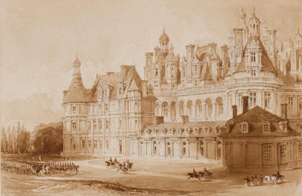 ALLOM Thomas (1804-1872) - Chateau de Chambord.