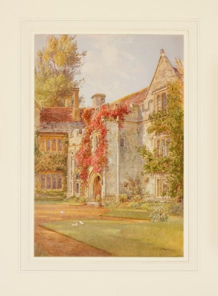 ALTHAUS Fritz (1865-1952) - Dorset.