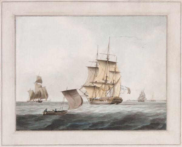 ANDERSON William (1757-1837) - Off-shore.