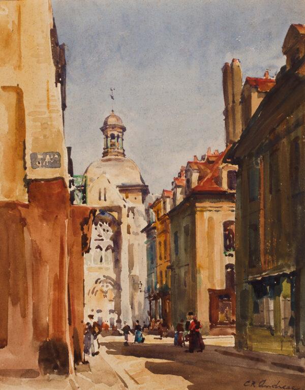 ANDREAE Conrad R. (1871-1956) - France.