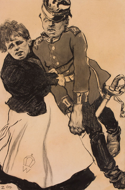ANON (Twentieth Century) - WW1 (subject) ?French.