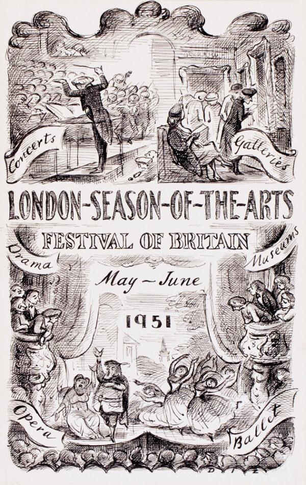 ARDIZZONE Edward C.B.E. R.A. (1900-1979) - 'The Festival of Britain'.
