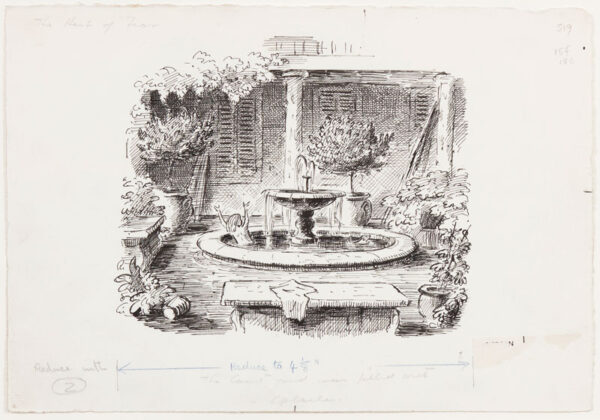 ARDIZZONE Edward R.A. (1900-1979)  Provenance: The artist's estate. - 'The Herb of Fear'.