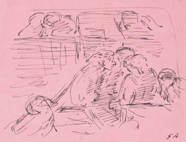 ARDIZZONE Edward R.A. (1900-1979)  Provenance: The artist's estate. - Barristers consulting.