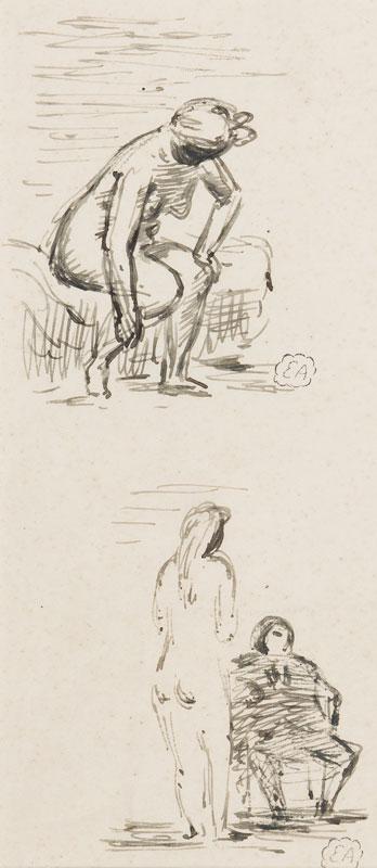ARDIZZONE Edward R.A. (1900-1979)  Provenance: The artist's estate. - Girls and men.
