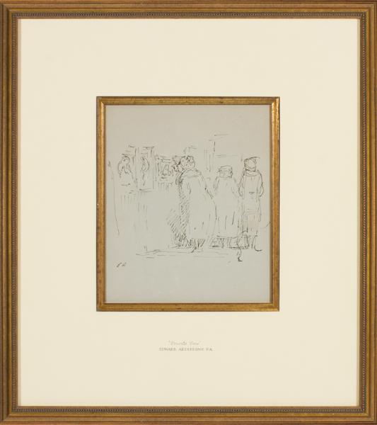 ARDIZZONE Edward C.B.E. R.A. (1900-1979) - 'Private View'.