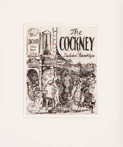 ARDIZZONE Edward C.B.E. R.A. (1900-1979) - 'The Cockney / Julian Franklin'.