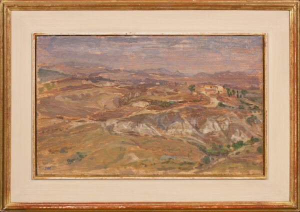 ARMFIELD Diana R.A. N.E.A.C. R.W.A (b.1920) - 'Le Crete (Senesi)'.