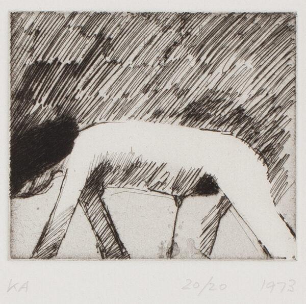 ARMITAGE Kenneth C.B.E. R.A. (1916-2002) - 'Crawling Woman'.