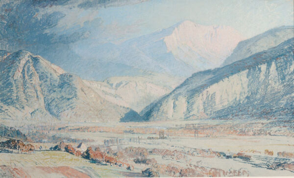 ARNOLD-FOSTER W.E. (Exh.1908-1935) - In the Alps.