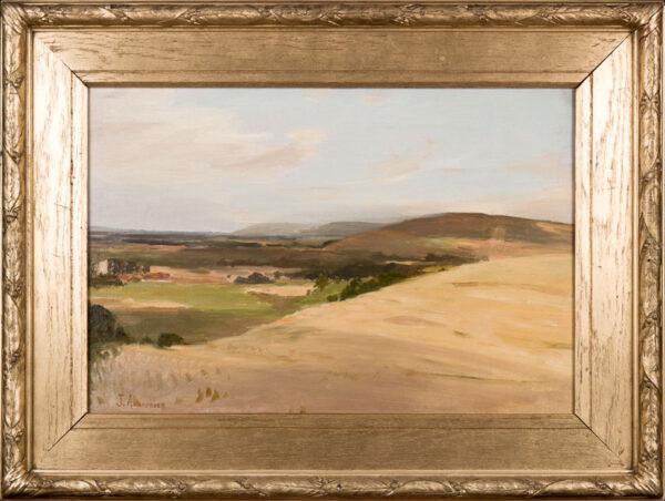 AUMONIER James R.I. (1832-1911) - The South Downs.