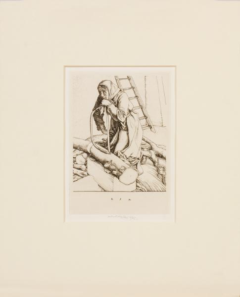 AUSTIN Robert Sargent R.A. R.E. R.W.S. (1895-1973) - Engraving.